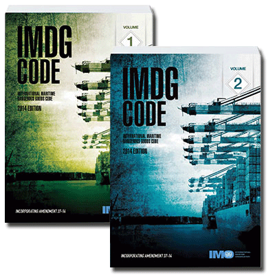 2014 IMDG Code Canada, IMDG Code Oregon, 2014 IMDG Code USA, 2014 IMDG Code California Washington Alaska