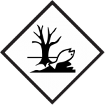 environmentally hazardous mark; environmentally hazardous placard; marine pollutant label, marine pollutant placard, environmentally hazardous placard, dead fish placard, dead fish label