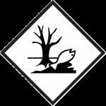environmentally hazardous mark; environmentally hazardous placard; marine pollutant label, marine pollutant placard, environmentally hazardous placard, dead fish placard, dead fish label