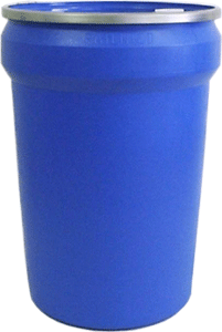 Plastic UN drums, 30 gal open-head plastic UN drums Canada, openhead UN rated drums, lever lock 1H2 Plastic UN drums