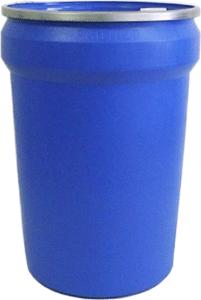 Plastic UN drums, 30 gal open-head plastic UN drums Canada, openhead UN rated drums, lever lock 1H2 Plastic UN drums