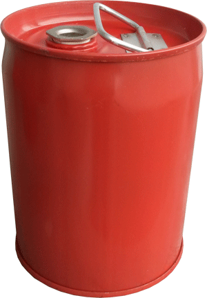 steel UN drums, 1 gal red steel un drum, closed-head steel UN rated drums, 1 gal 1A1 steel UN drum USA