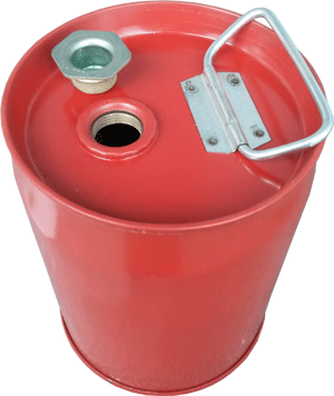 steel UN drum BC, red steel UN drums alberta, closedhead UN rated drum, 1 gallon tight head steel UN drum Canada