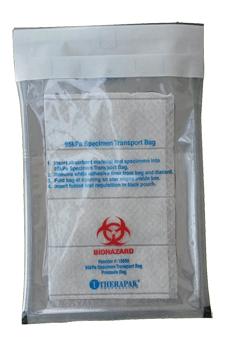 self-seal IATA 95 kPa bag Canada, 95kPa bag USA with absorbent