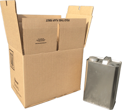 f style oblong 1 gal 4G UN box, 1 gal paint 4G kit