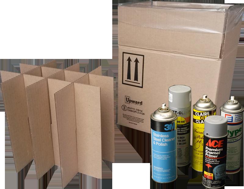 aerosol 4G UN boxes, aerosol 4G boxes, aerosol UN packaging