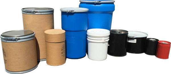 UN drums, tight head steel UN rated drums, open head plastic UN drums, closed head 5 gal steel UN drum, open head fiber UN rated drums, lined steel UN rated drums
