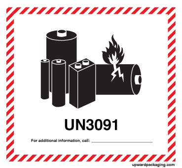 Lithium Ion Battery >> Handling labels, Limited quantity marks, Marine pollutant marks,